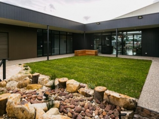 Turf, Concrete paths, Landscapers, Landscaping Designs, Dry Creek Bed, Victor Harbor, Fleurieu