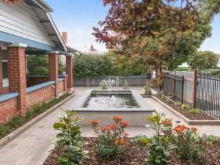 Water Feature, Retaining Wall, Fencing, Motorised Gate, Garden Designs, Landscaping Designs, Block Wall, Irrigation, Spear Fencing, Fencing Contractors, Paving, Paving Contractors, Victor Harbor, Fleurieu