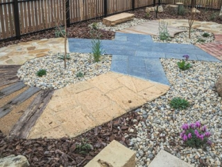 Sensory path, Landscaping, Landscapers, Landscaping Designs, Landscaping Features, Fencings, WHCH, Women and Children's Hospital Foundation, Victor Harbor, Fleurieu
