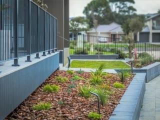 Retaining Wall, Block Wall, Raised Garden Bed, Landscapers, Landscaping Design, Garden Designs, Turf, Irrigation, Victor Harbor